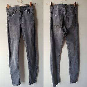 Fashion Nova Gray Jeans